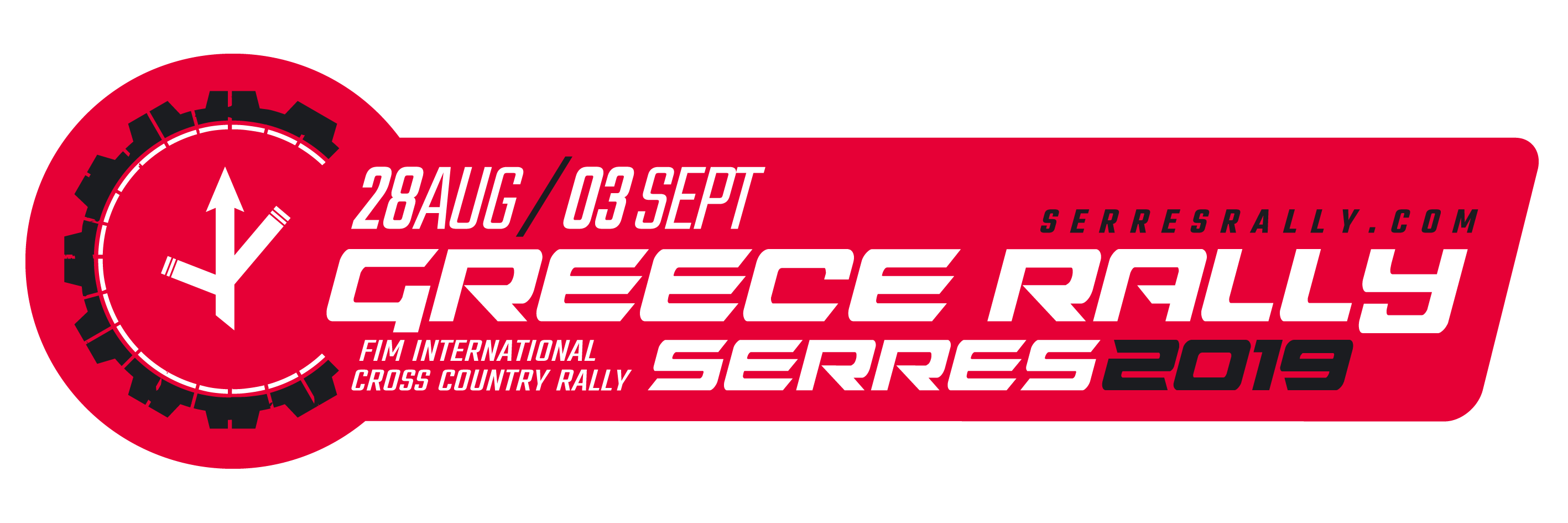 logo GR RALLY horizontal 2019 in red