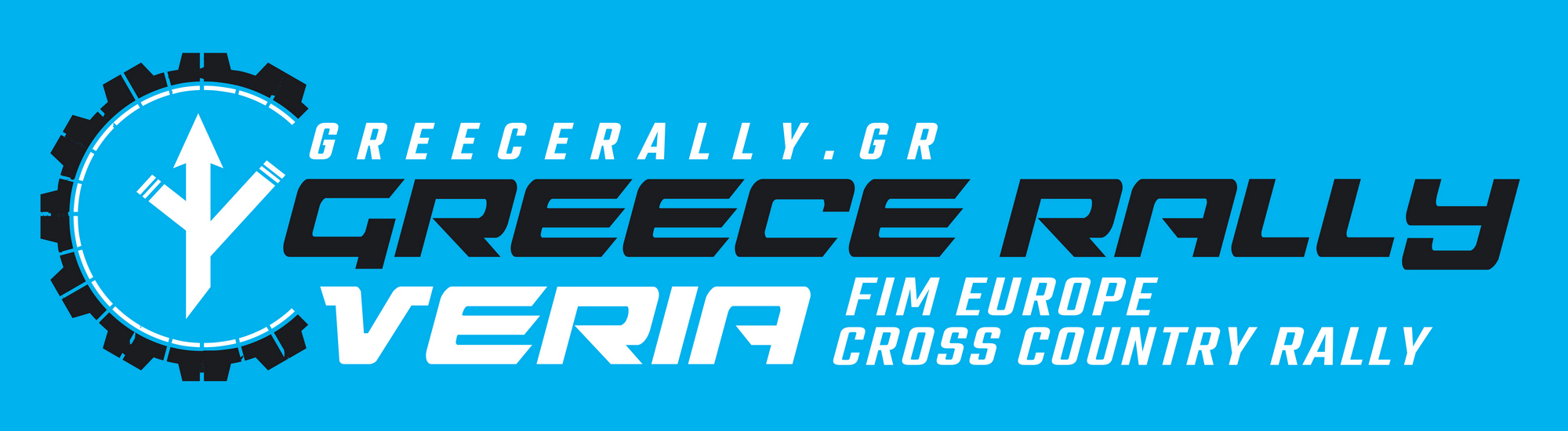 GR Rally horizontal logo in Red shape 2x20